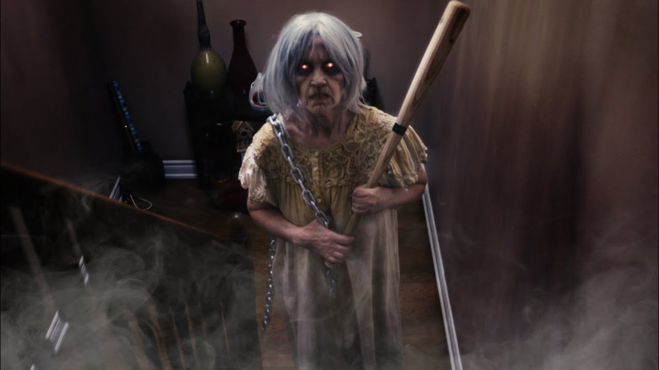 Granny Horror Game Irl Vs Slendrina Granny In Real Life
