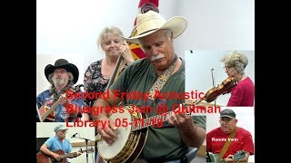 Second Friday Acoustic Bluegrass Jam @ Quitman, TX Public Library, 05 11 18