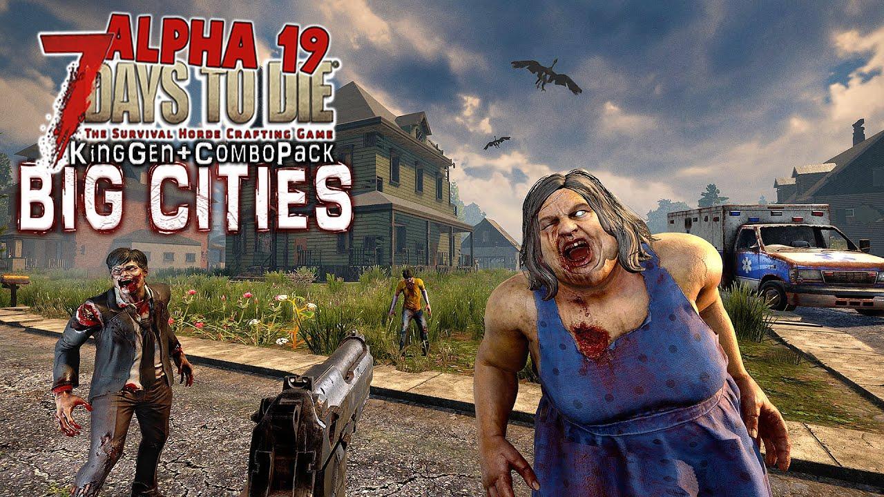 Download Big Cities Part 9 - 7 Days To Die Alpha 19 Zombie Survival Gameplay