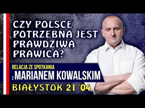Marian Kowalski w Białymstoku relacja ze spotkania 21042018 #IPPTV