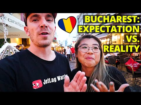 First Impressions of Bucharest, Romania! 🇷🇴