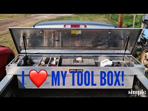 Tool Time Tuesday -Pickup Truck Tool Box – prepared for an emergency👍