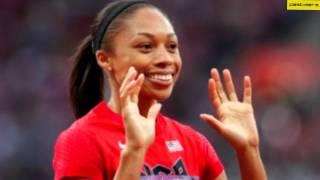 Allyson Felix at London Olympics 2012