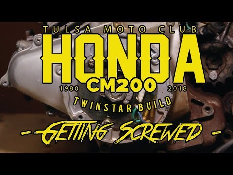 HONDA CM200 Engine Tear Down Pt.1 - GETTING SCREWED