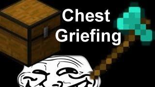 MineCraft Trolling / Griefing: Episode 6 (Chest Griefing)