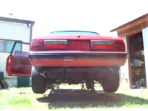1988 FORD MUSTANG LX 5.0 HO V8 STOCK MOTOR