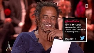 Yannick Noah, Patrick Timsit et Alessandra Sublet répondent aux pires tweets !