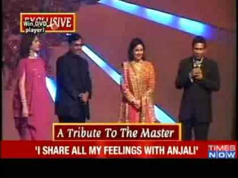 SACHIN TENDULKAR- BEST PARTNERSHIP WITH ANJALI