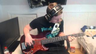 Thunder And Roses - White Lace And Strange (Bass Cover)