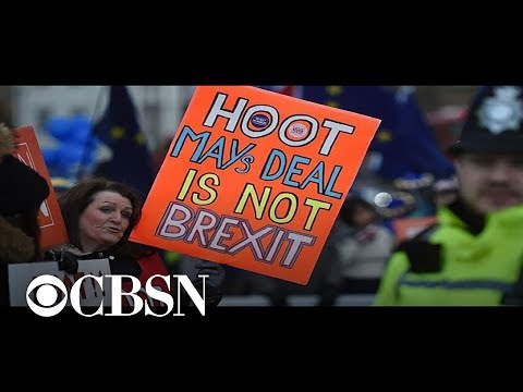 Political turmoil in Britain after Theresa May's Brexit deal suffers another defeat – CBS World News