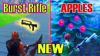 *NEU* Äpfel & Burst Assult Gewehr (Fortnite Update) (4.2 Patch Notes)