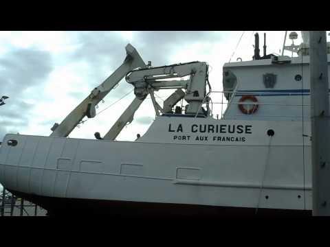 Quai de réparation du Port Ouest Réunion.