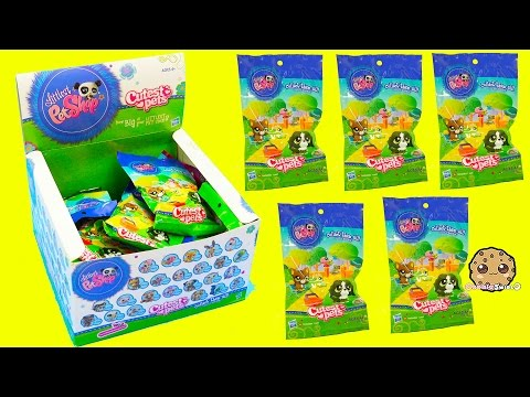 Littlest Pet Shop Cutest Pets Bobbleheads LPS Surprise Blind Bag Box - Cookieswirlc