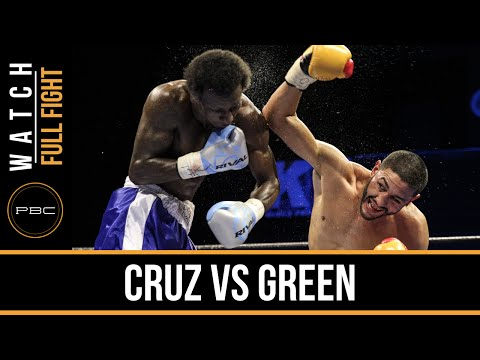 Cruz vs Green FULL FIGHT: Dec. 29, 2015 - PBC on FS1