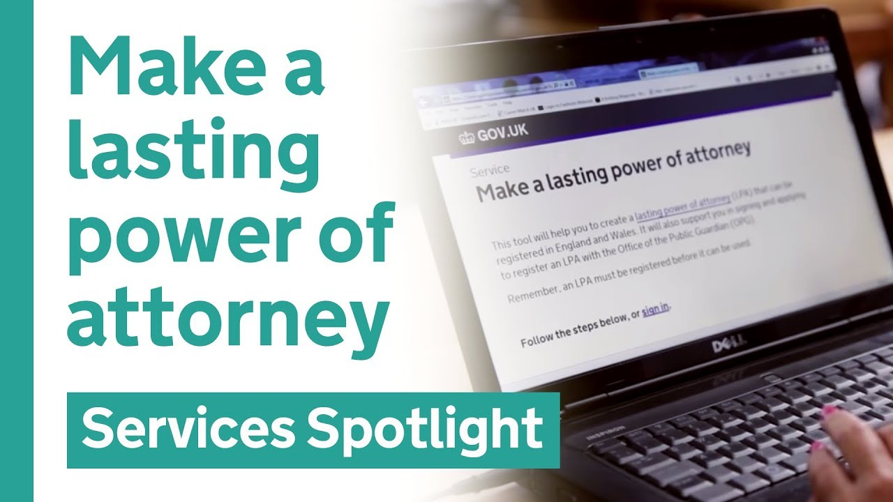 Make a lasting power of attorney on gov youtube make a lasting power of attorney on gov solutioingenieria Image collections