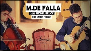 "Manuel de Falla ""Danza ritual del fuego"" played by DUO Singer-Fischer on a 2019 Michel Brück"