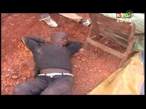 L'exploitation artisanale de l'Or en Guinée : Environ 200 morts à Bouré et Kintinian