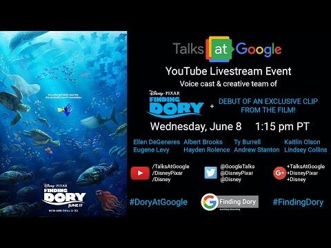 "Disney•Pixar ""Finding Dory"" | Talks at Google"