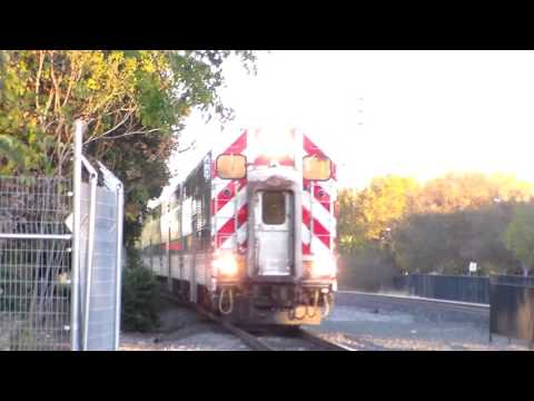 Railfanning in Palo Alto