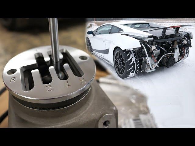 Manual Conversion For Lamborghini Gallardo Looks Like A Bit Of A
