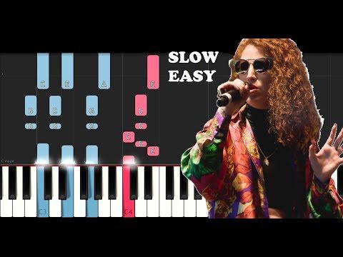 Rudimental, Jess Glyne, Macklemore & Dan Caplen - These Days (SLOW EASY PIANO TUTORIAL)