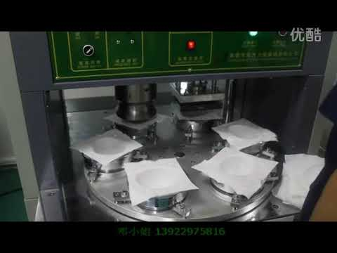 Maquina Para Fabricar Barbijo Mascarilla Tipo N95
