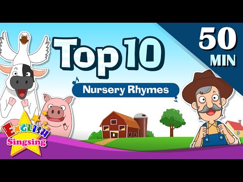 Old MacDonald Had a Farm+More Nursery Rhymes | Top 10 of Nursery rhymes | Collection of Kids Songs