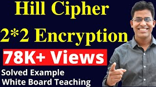 Hill Cipher Encryption 2by2 Matrix