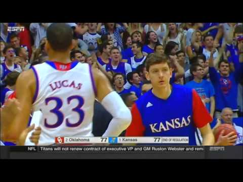 Oklahoma vs Kansas highlights (January 4th, 2016) HD