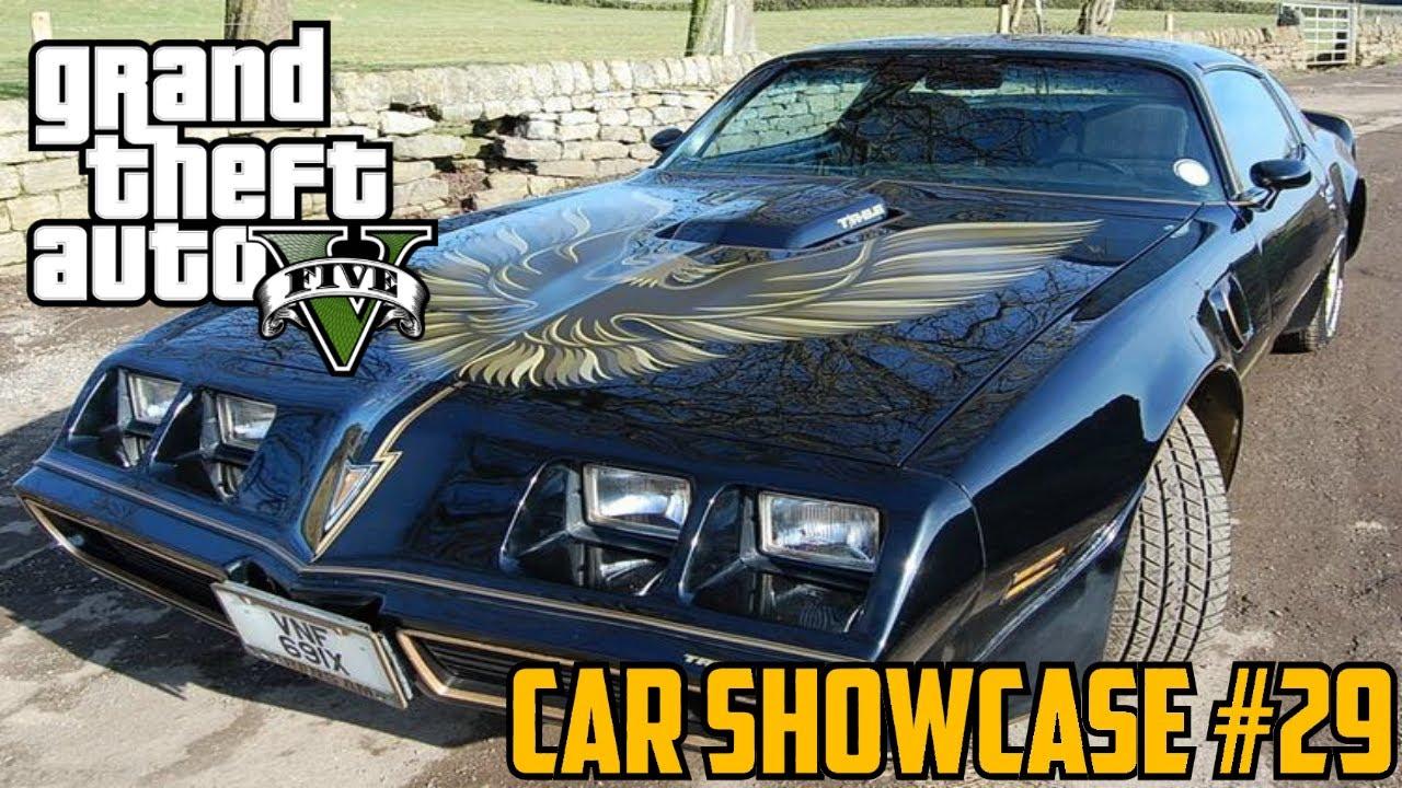 Gta v imponte phoenix muscle pontiac firebird car showcase 29 youtube
