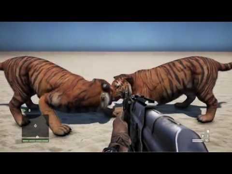 Far Cry 4 【PC】 Standard FUR 【VS】Simulated FUR【In Motion】60 FPS【GTX 780Ti】