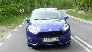 (ENG) Ford Fiesta ST - Test Drive and Review(Ford Fiesta ST 2013 has to take on other hot hatches such as Renault Clio RS, Peugeot 208 GTi. Is the new 182 horsepower Fiesta ST a good hot hatch?, 2013-05-31T22:07:59.000Z)