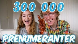 300k prenumeranter!!! | galet snackstest ft. MATS thumbnail