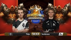 Thijs vs Hunterace - Group A Initial - Hearthstone Grandmasters Europe 2020 Season 1 - Week 1