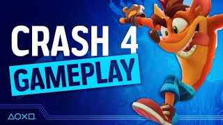 Crash Bandicoot 4: It's About Time - PS4 Gameplay