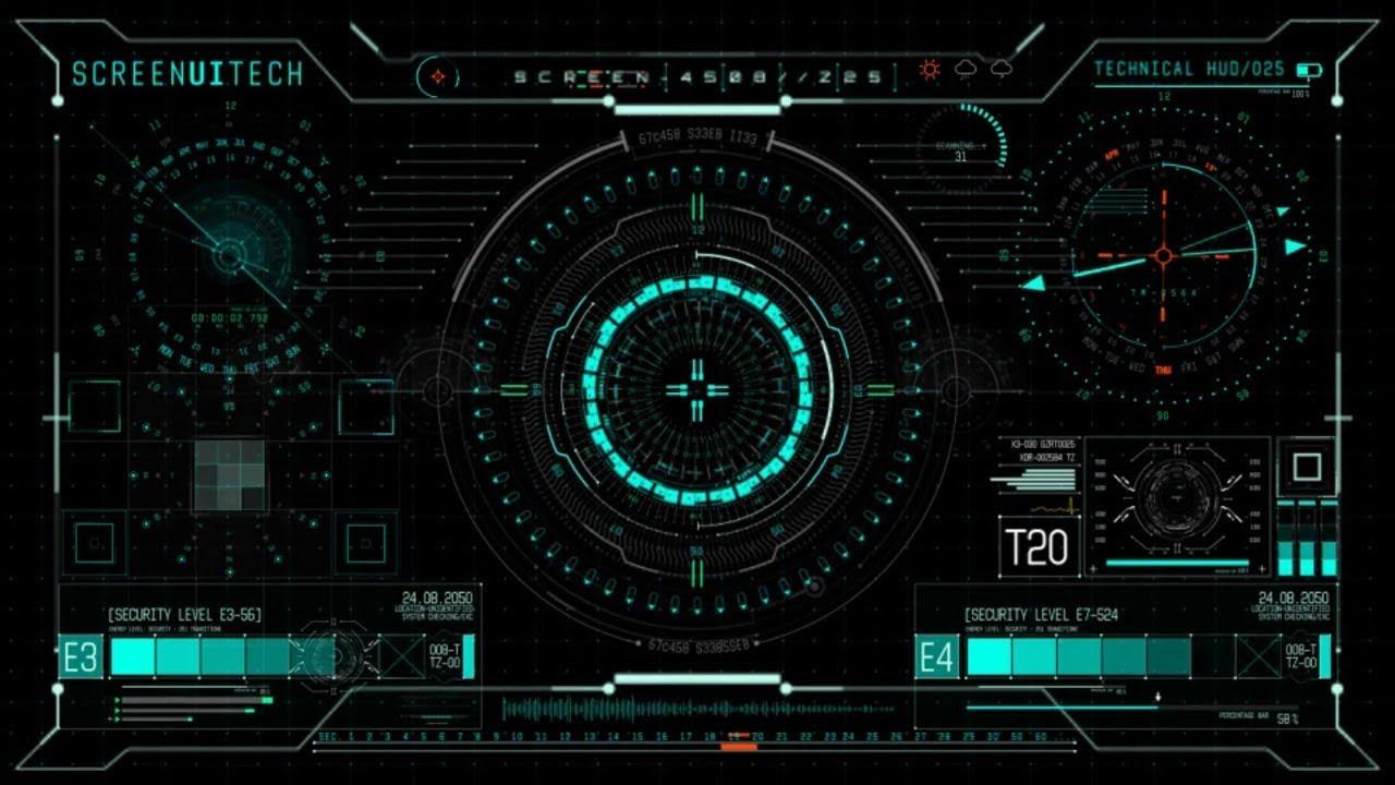 Iron Man 3d Wallpaper Free 700 Hud Ui Design Elements Technology After Effects