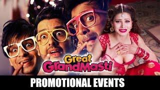 Great Grand Masti Promotional Event | Vivek Oberoi | Ritesh Deshmukh | Aftab Shivdasani