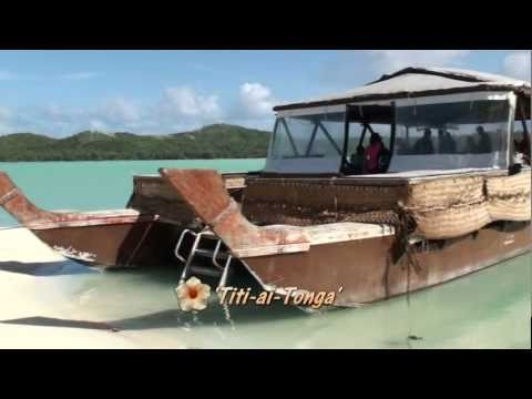 HERE WE ARE IN THE COOK ISLANDS PART 08 AITUTAKI LAGOON TITI-AI-TONGA ONE FOOT ISLAND
