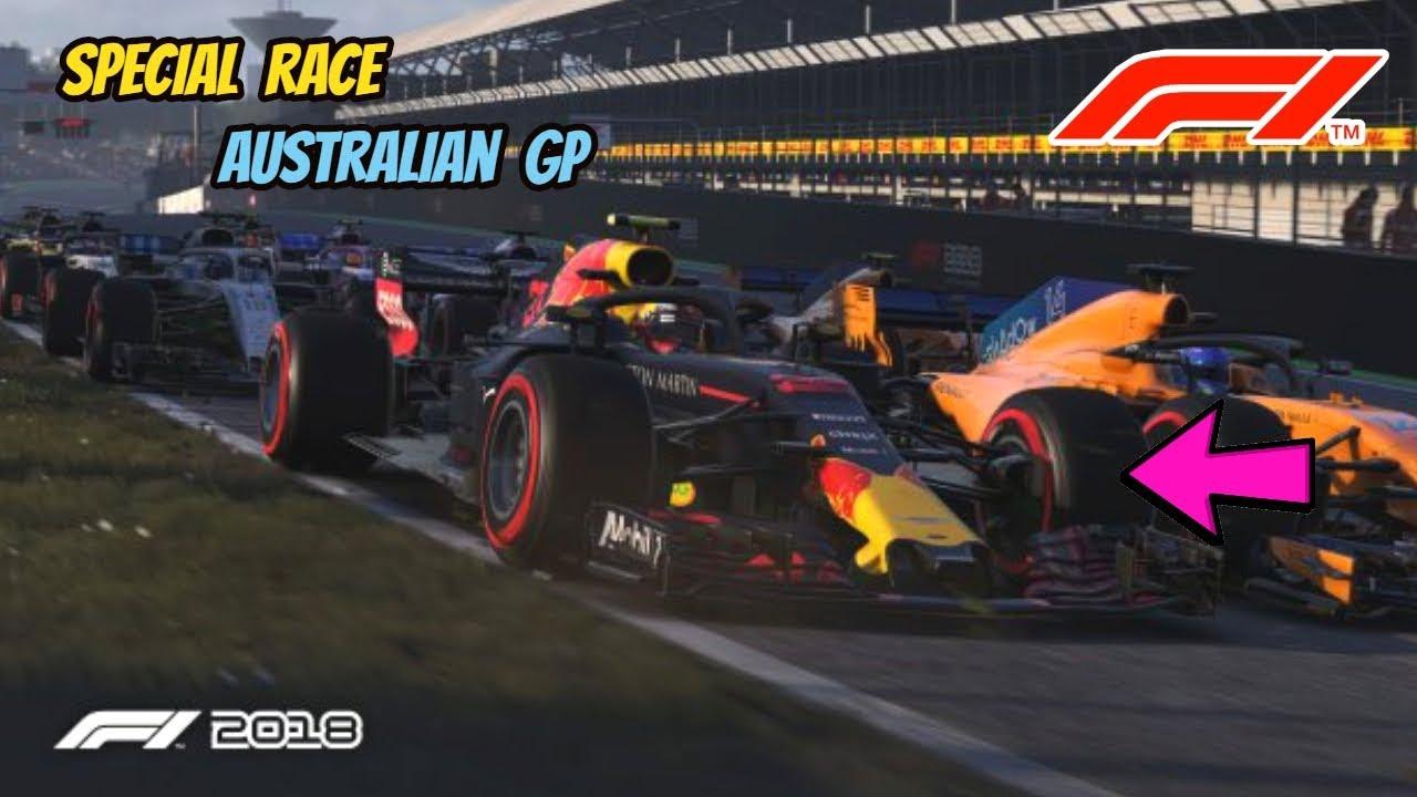Special Race FORMULA 1 ROLEX AUSTRALIAN GRAND PRIX 2019 - MELBOURNE,  AUSTRALIA| F1 2019 Game