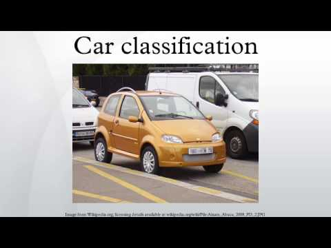 Car classification