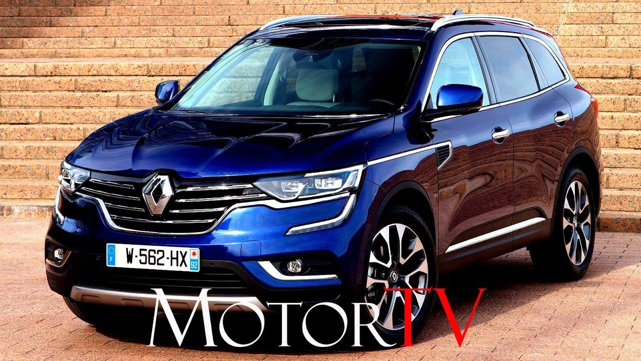 Suv New Renault Koleos L Exterior Interior L Beauty Shots