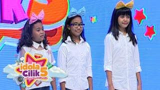 Keren banget R Three grup pertama yang lolos audisi [Idola Cilik 5] [12 Des 2015]