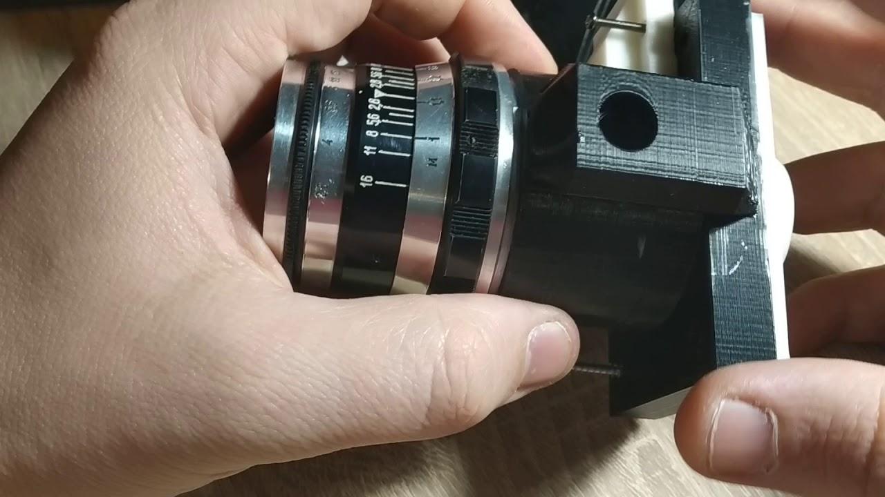 Как сделать микроскоп из объектива фотоаппарата