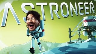 Astroneer | Part 1 | I FREAKING LOVE SPACE!! thumbnail