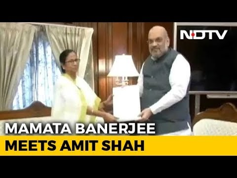 Mamata Banerjee Raises Assam Citizens' List In Meeting With Amit Shah