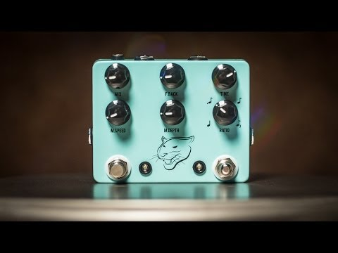 JHS Panther Cub Analog Delay with Josh Scott Owner of JHS Pedals // FIRST LOOK DEMO