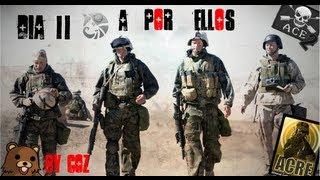 """ARMA 2. Misión """"Generation Kill. Dia 2.La cuna de la civilización"""" en español. Parte 1 de 2."""