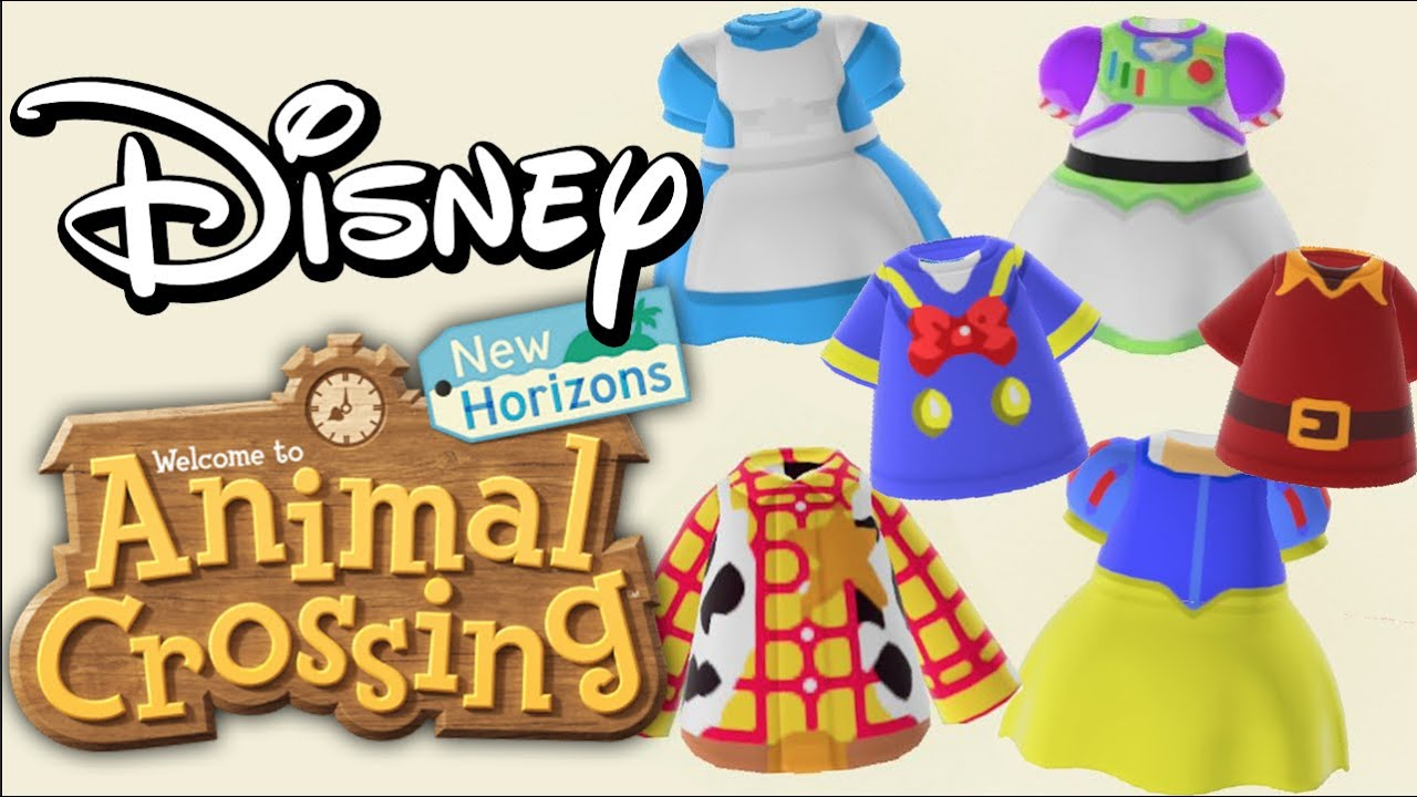 Disney Codes Dresses And More For Animal Crossing New Horizons