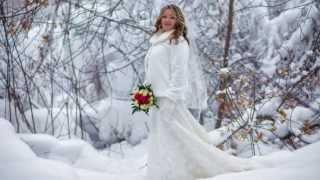 Светлана и Андрей, свадьба зимой.