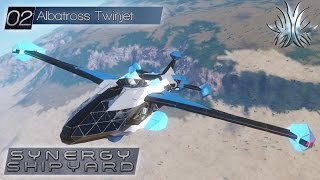 Space Engineers - Synergy Shipyard: Albatross Twinjet